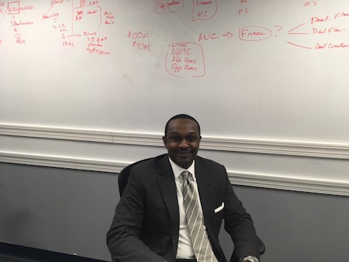 Babatunde Oloyede is the president of the Marshall Heights Community Development Organization and owns a District business. (WI photo)