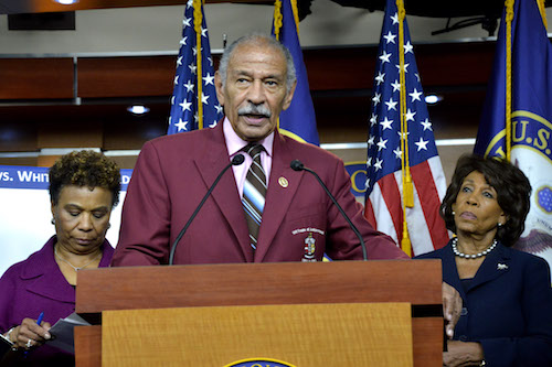 Photo of Former Rep. John Conyers Dies at 90