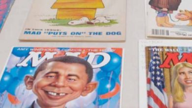 Photo of Iconic Mad Magazine Leaving Newsstands