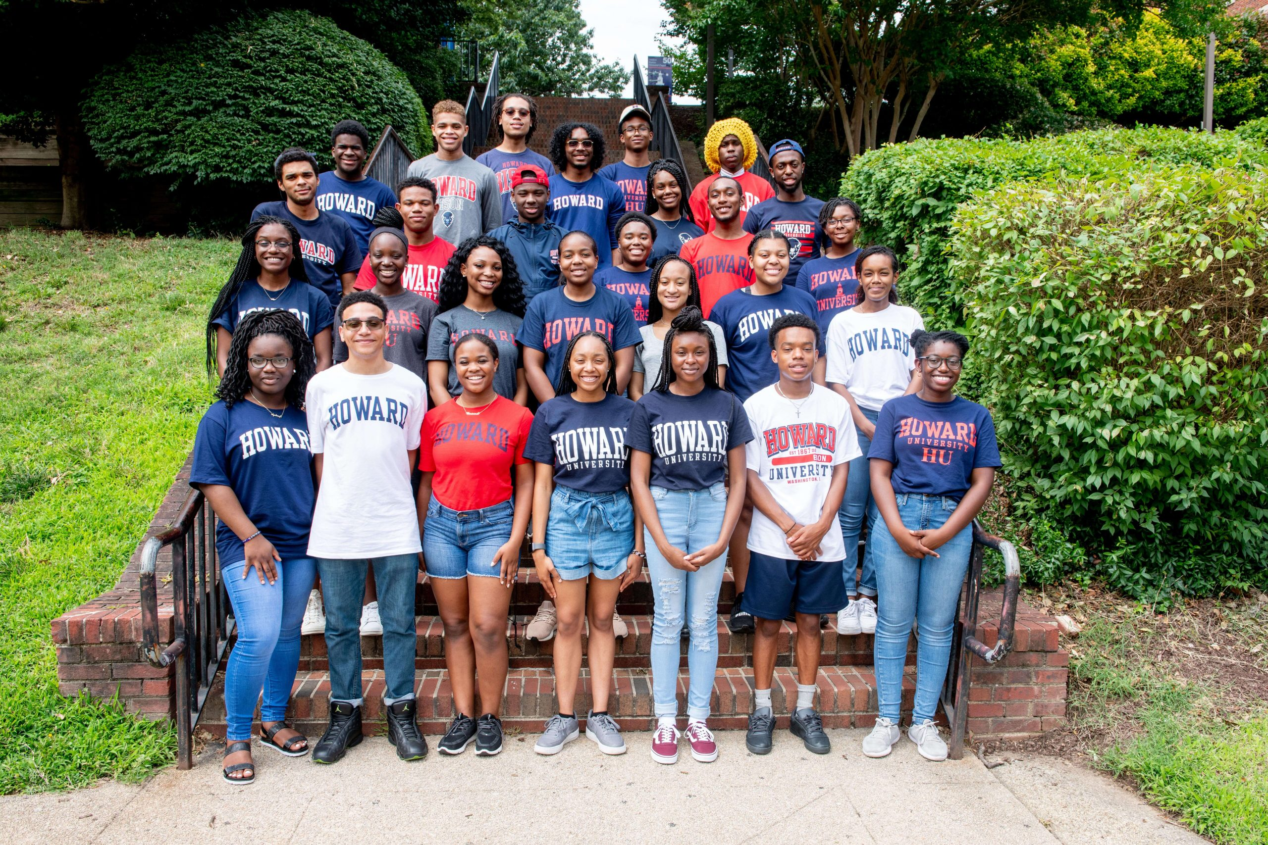 Photo of Howard U Bison STEM Program Welcomes New Scholars