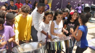Photo of Migrant Children in Trinidad Learn to Play Steel Pan