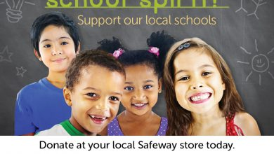 Photo of Safeway's 'SCHOOL SPIRIT' Campaign to Support Local Schools