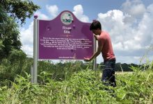 Photo of Bulletproof Sign Needed to Protect New Emmett Till Memorial