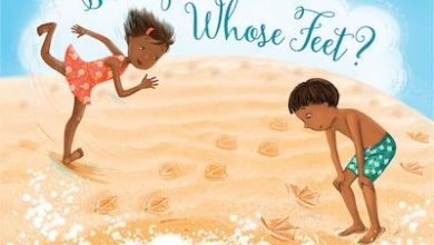 Photo of BOOK REVIEW: 'Sandy Feet! Whose Feet? Footprints at the Shore' by Susan Wood, illustrated by Steliyana Doneva