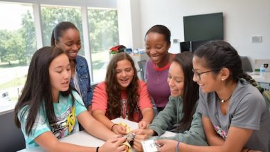 Photo of U.Md. Computer Science Camp Inspires Girls