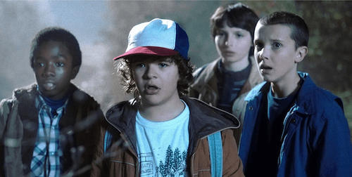 """The adventures are nonstop with the crew of """"Stranger Things,"""" where a team of four set out to find the hidden mysteries just beneath the surface of their town. (Courtesy photo)"""