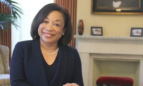 Lily D. McNair has been named the eighth president of Tuskegee University. She is the first woman to hold that position. (Courtesy of Tuskegee University)