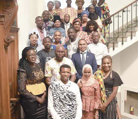 Young leaders from Africa attend the 6th Mandela Young African Leaders Initiative at Clark Atlanta University.(Courtesy photo)