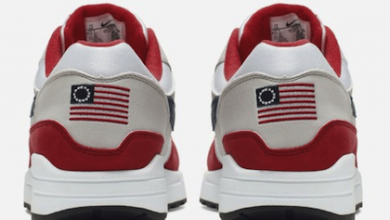 Photo of Nike Pulls 'Betsy Ross Flag' Sneaker After Backlash