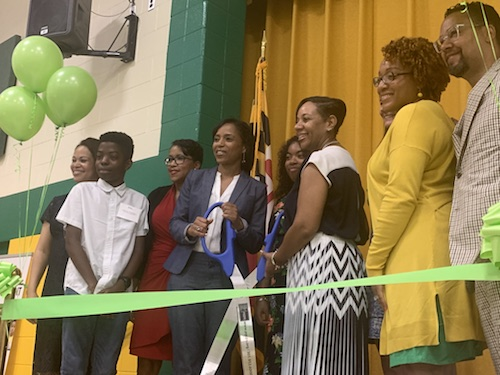 The Higher Achievement organization recently opened its first site in Prince George's County with the launch of an Achievement Center at Greenbelt Middle School. (Courtesy of PGCPS)