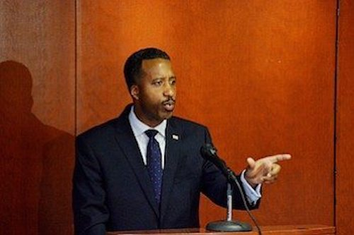 **FILE** D.C. Council member Kenyan McDuffie (Roy Lewis/The Washington Informer)