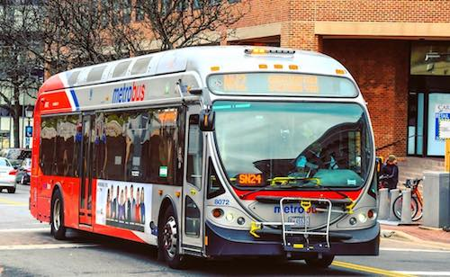 "Metrobus officials say they will strive to get an ""A"" grade from D.C. riders. (Courtesy of WMATA)"