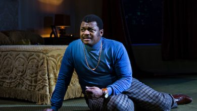 """Kelvin Roston stars in """"Twisted Melodies"""" at Baltimore Center Stage, in association with Congo Square Theatre Company, and now at the Mosaic Theater Company, housed at the Atlas Performing Arts Center in D.C. through July 21. (Courtesy of Baltimore Center Stage)"""