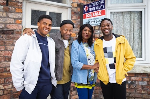 """Coronation Street's"" Bailey family comes onto the Cobbles as a ready unit with a few hidden secrets that will keep viewers riveted. (Courtesy photo)"