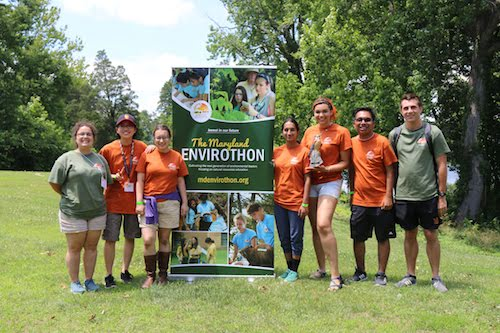 The Envirothon offers high school students an opportunity to gain hands-on training and experiences in natural resources by career experts. (PGCPS Photo)