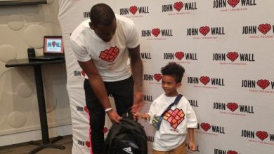 Photo of John Wall Provides Supplies, Inspiration at Annual Back-to-School Giveaway