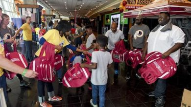 Photo of Redskins Foundation to Host Back-to-School Fair