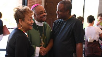 Photo of Archbishop Gregory Continues Task of Restoring Trust