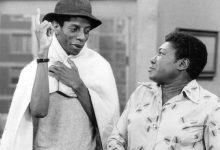 """Jimmie Walker and Esther Rolle in """"Good Times"""" (CBS Television via Wikimedia Commons)"""