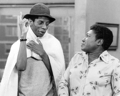 "Jimmie Walker and Esther Rolle in ""Good Times"" (CBS Television via Wikimedia Commons)"