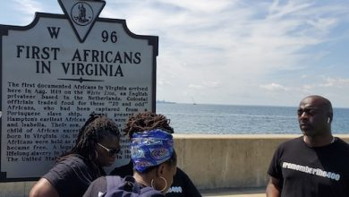 Photo of Ceremonies, Activities in Virginia Commemorate 1619 Landing of Enslaved Africans