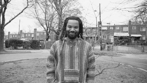 Playwright/poet John Johnson received the 2019 Distinguished Artist Award, also known as the East of the River Artist Award. (Courtesy photo)