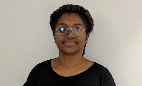 Sophia Sparks, like many with low vision, adapted to her condition using several devices, including bioptic glasses. (Courtesy photo)