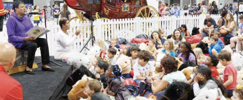Children are among those who will benefit from a day of educational and interactive programming during the 19th annual Library of Congress National Book Festival. (Courtesy of National Book Festival)