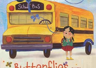 Photo of BOOK REVIEW: 'Butterflies on the First Day of School' by Annie Silvestro, illustrated by Dream Chen