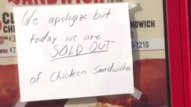 Photo of Popeyes Sells out of New Chicken Sandwich