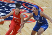Photo of Mystics Pound Lynx for 3rd Straight Win