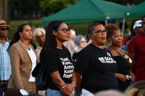 Faith community celebrates unity. (Anthony Tilghman/The Washington Informer)