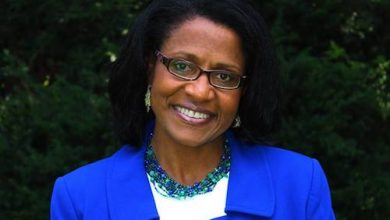 Photo of Karen Keys-Gammara Campaigns for Reelection to Fairfax School Board