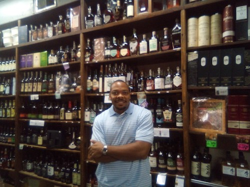 Burnie Williams runs his family's Chat's Liquors on Capitol Hill. (James Wright/The Washington Informer)