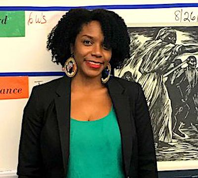 "Alysha Butler will be honored as ""National History Teacher of the Year"" on Oct. 2 in New York City. (Courtesy of finnpartners.com)"