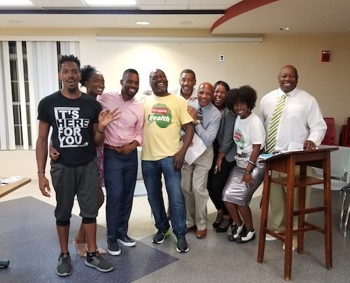 Young community activists collaborate for better health in Wards 7 and 8. (Courtesy of Franklyn Malone)