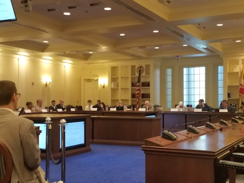 The Commission on Innovation and Excellence in Education, also known as the Kirwan Commission, meets in Annapolis on Sept. 26. (William J. Ford/The Washington Informer)
