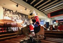 Photo of D.C.-Area Mascots Face off in PBR Mechanical Bull Challenge