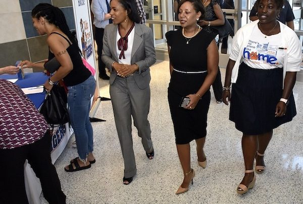 "On the first day of classes on Tuesday, Sept. 3, PGCPS CEO Monica Goldson visited several schools to highlight priorities under ""The Blueprint for PGCPS."" (WI file photo)"
