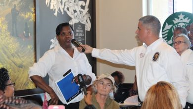 Photo of Residents Air Education Concerns at 'Coffee and Conversation' Event