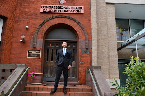 CBCF President David Hinson (Anthony Tilghman/The Washington Informer)
