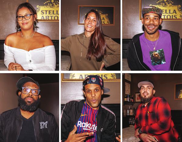 Clockwise from top left: Alexandra Mitchell, Elizabeth Szatkowski, Tim Slayton, Victor Berrios, Jay Bynum, Jamil Hamilton (Photos by Ja'Mon Jackson)