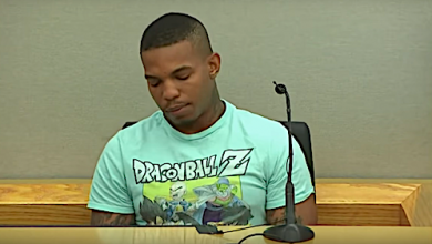 Joshua Brown, a neighbor of Botham Jean, testifies Sept. 24 in a Dallas court during the murder trial of Amber Guyger, a former Dallas police officer accused of killing Jean in his own apartment.
