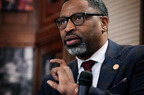 NAACP President/CEO Derrick Johnson (Sharon Farmer/Journalism Roundtable via Trice Edney News Wire)