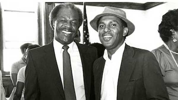 Marion Barry and John A. Wilson (Courtesy of Wilson Scholarship Fund)