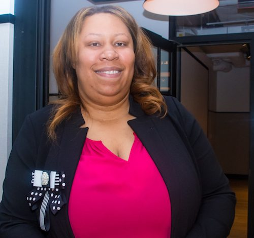 Unique Morris-Hughes, director of the D.C. Department of Employment Services (Shevry Lassister/The Washington Informer)