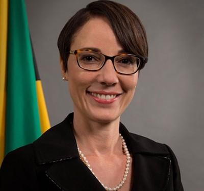 Jamaican Sen. Kamina Johnson-Smith
