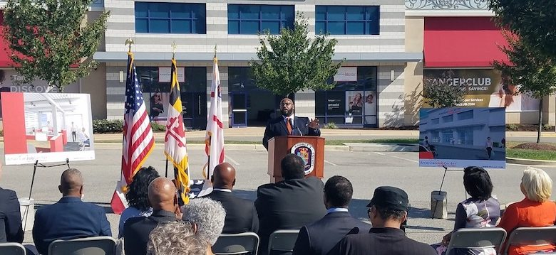Walter Simmons, president and CEO of Employ Prince George's, announced Oct. 10 a new job center that will open in January at Tanger Outlets. (William J. Ford/The Washington Informer)