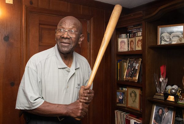Fred Valentine, a former Washington Senators baseball player from 1964-68, talks about his baseball career and excitement to see the Washington Nationals in the World Series. (Shevry Lassiter/The Washington Informer)