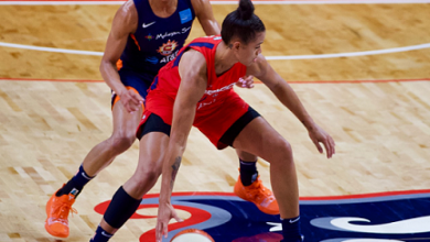 Photo of Mystics Lose Delle Donne, Game 2 of WNBA Finals